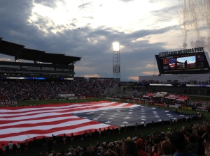 Colorado Rapids on Independence Day