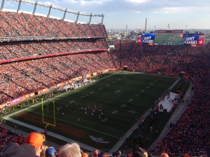 78000 in the Broncos Stadium